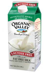 Lactose-Free, Fat Free Skim Milk, Ultra Pasteurized, Half