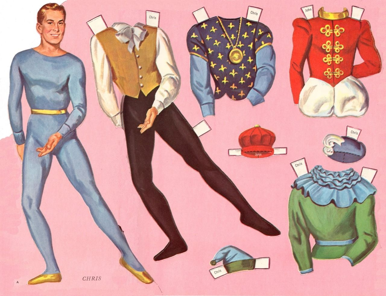 Paper Dolls as Fashion History in 2020 Paper dolls