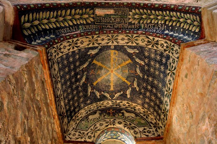 albenga battistero mosaico