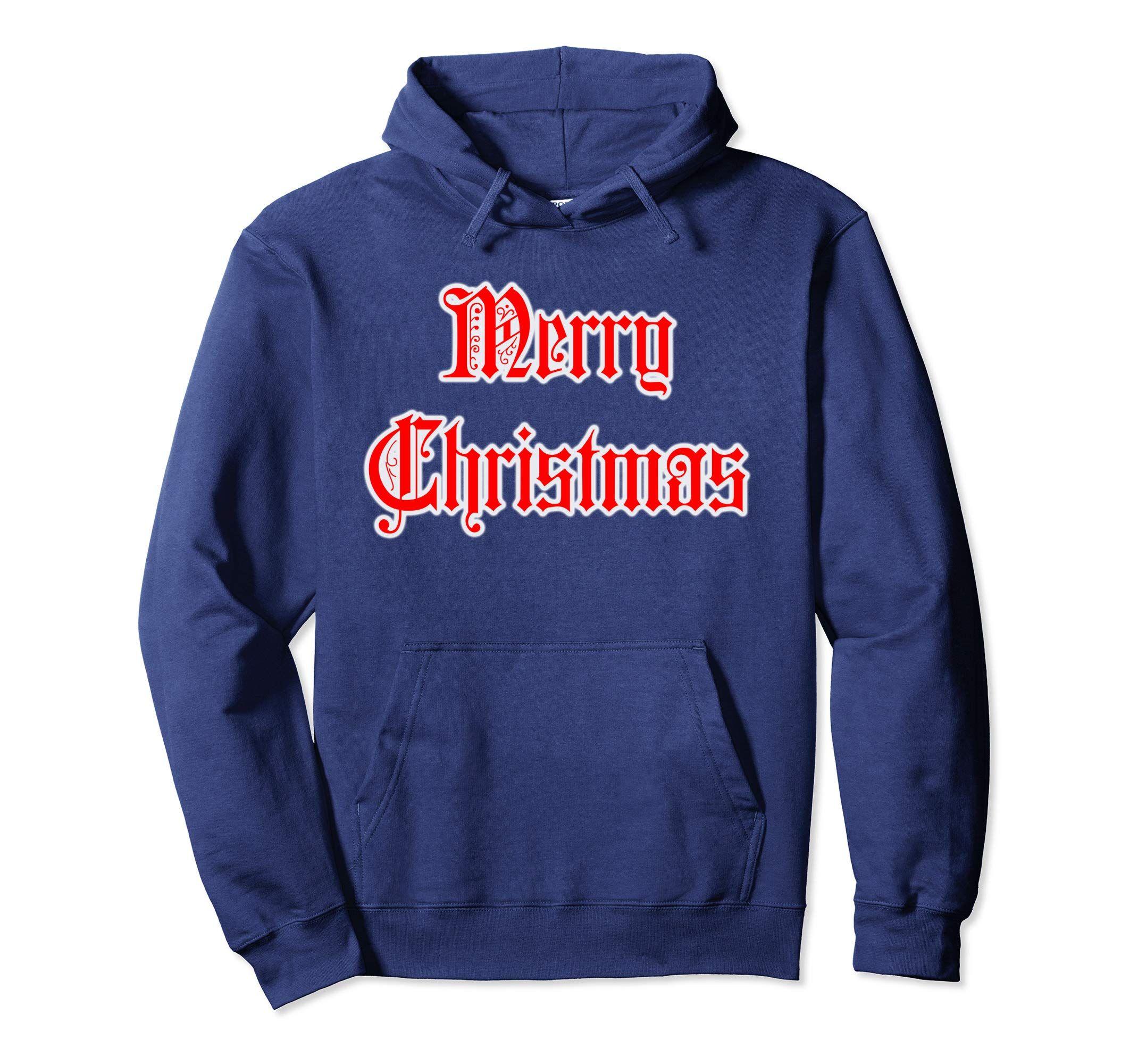 heiß-verkauf freiheit Fang günstig kaufen Merry Christmas Xmas pullover Hoodie by Scar Design. In 5 ...