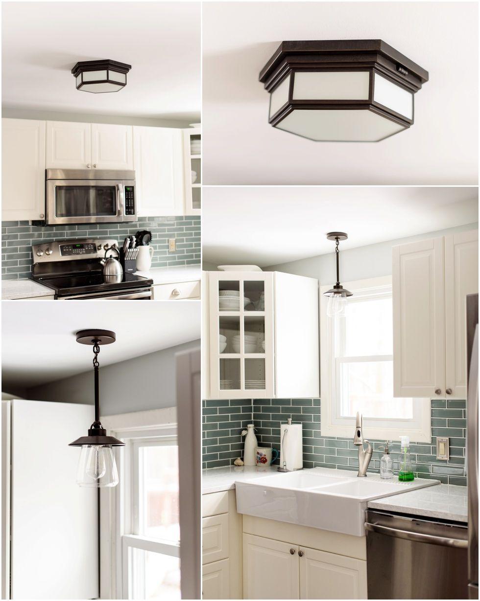 ikea kitchen renovation White Ikea Kitchen Bodbyn restoration ...