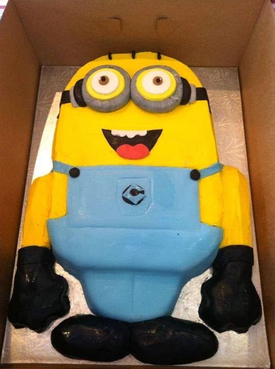 Creative Despicable Me Minion Birthday Cake Ideas Birthday cakes