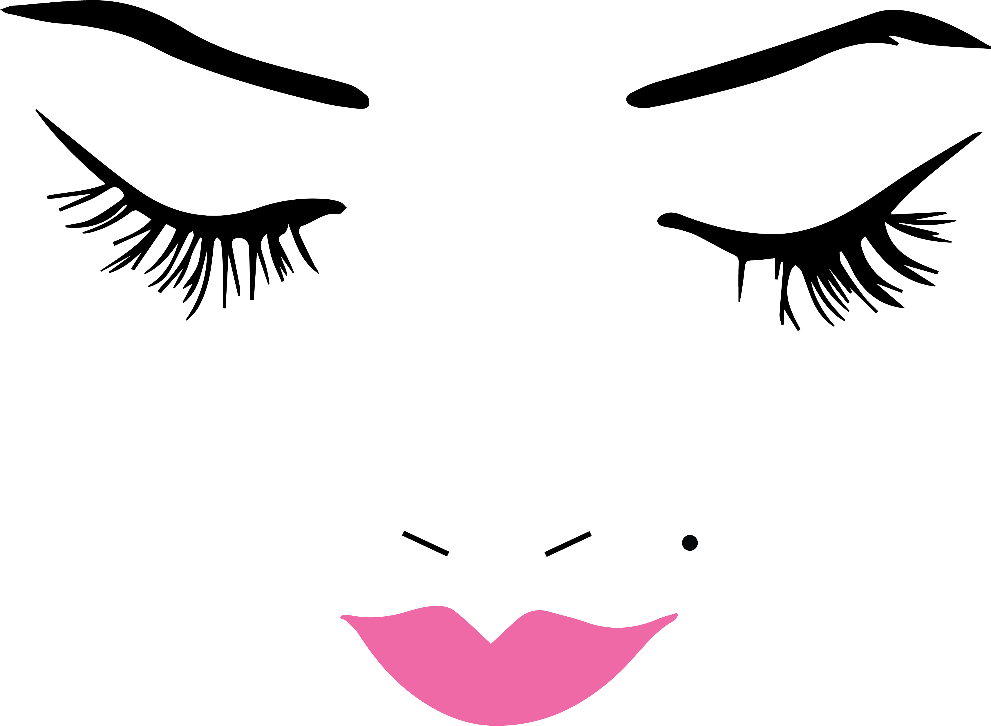 Beautiful Face Wall Decal For My Makeup Room