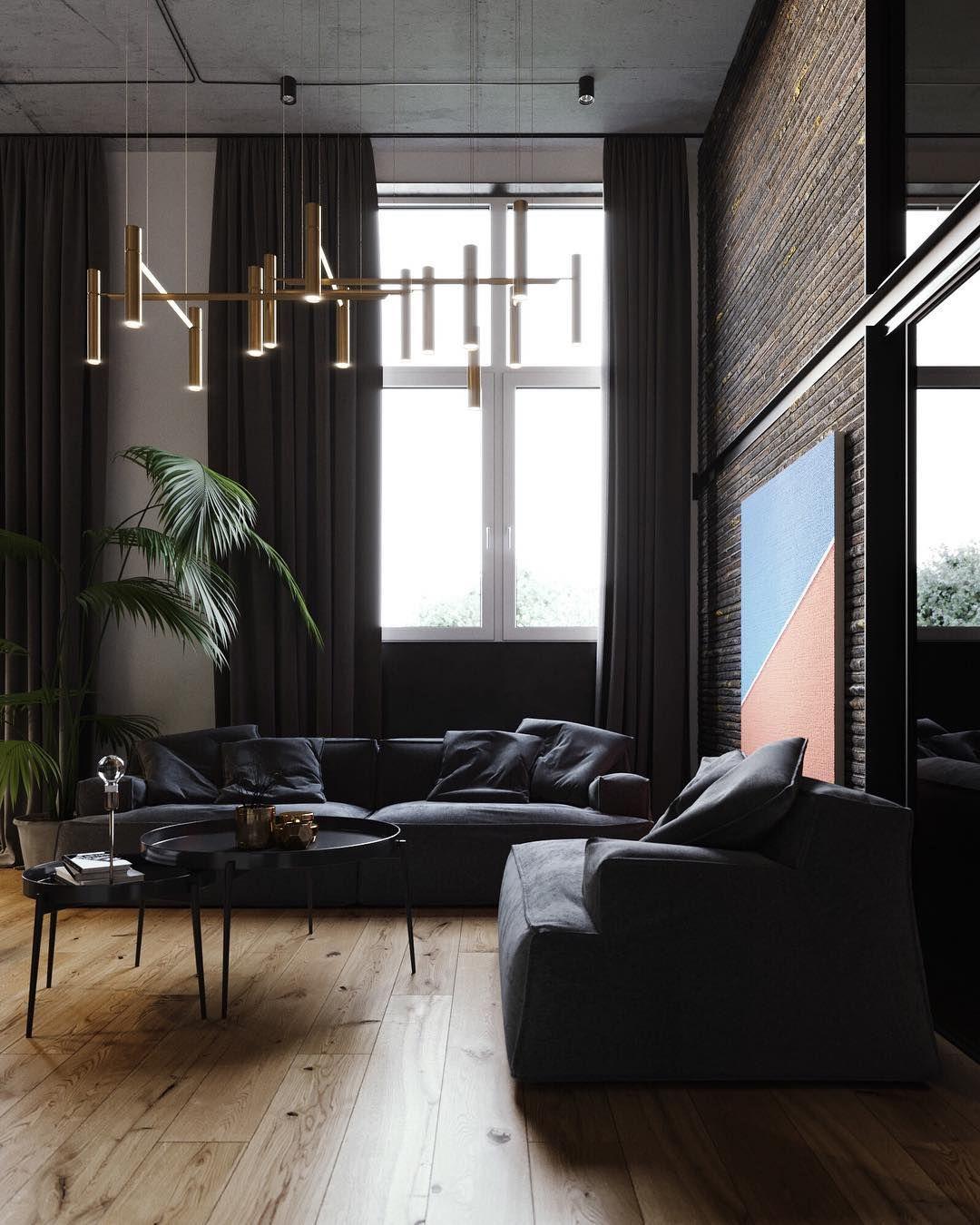 Modern Apartment Design Luxury Modern Industrial Interior