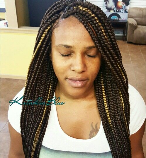 box braidsmedium box braidshighlights ig katahlia