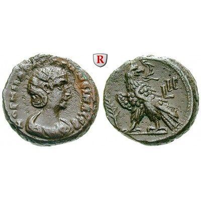 Römische Provinzialprägungen, Ägypten, Alexandria, Salonina, Frau des Gallienus, Tetradrachme Jahr 13 = 265-266, vz: Ägypten,… #coins