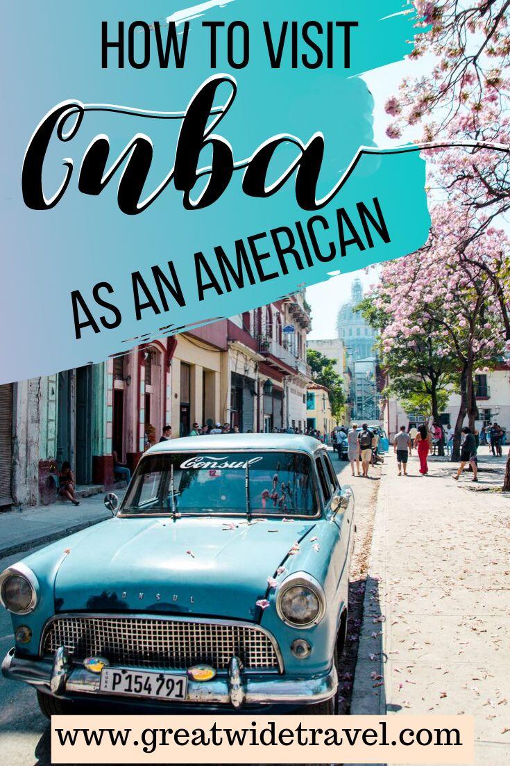 Cuba as an American #visitcuba