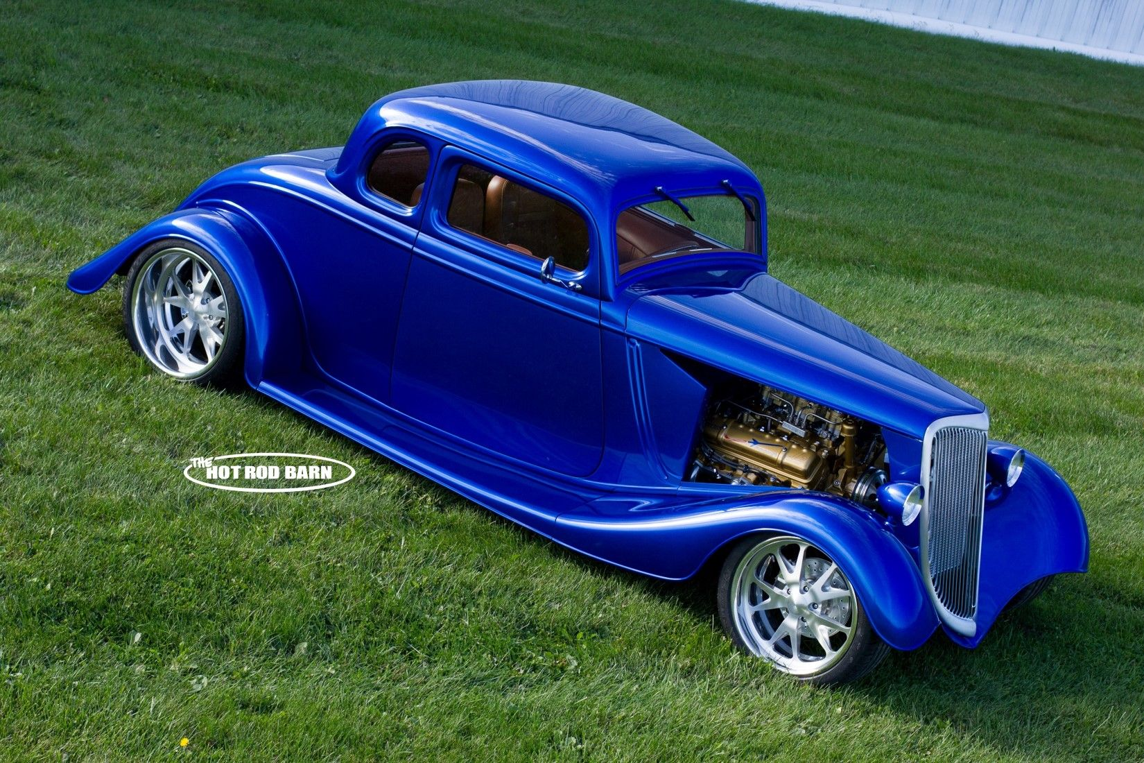 1934 Ford steel 5W fuel injected. Built at The Hot Rod