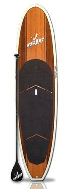 Isle Glider Stand up Paddle Boards - 11'10 Woody with Carbon Fiber SUP Paddle - http://paddleboardsreviews.com/isle-glider-stand-up-paddle-boards-1110-woody-with-carbon-fiber-sup-paddle/