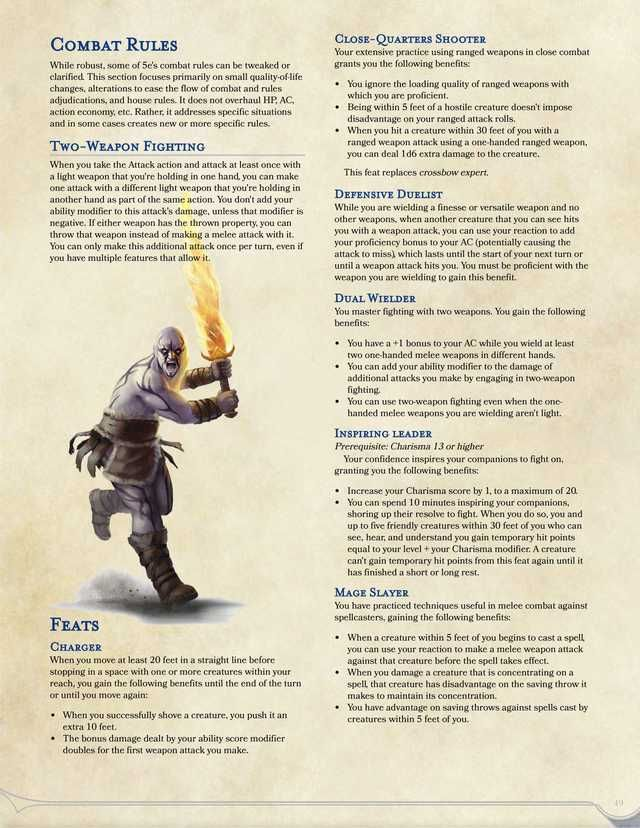 Dual Wielding 5e Feat : wielding, 5e][Monsters], Lynesth's, Wonderful, Creatures, Dungeons, Dragons, Rules,, Books,, Dungeon, Master's, Guide
