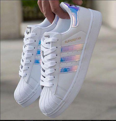 HOT Adidas Superstar Holographic Design