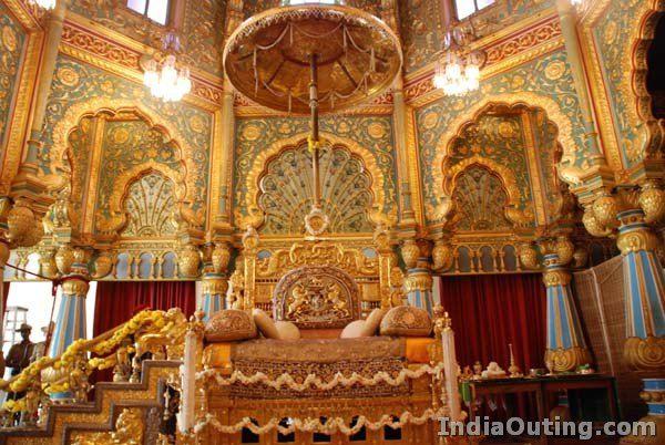 Mysoor Palace Golden Throne