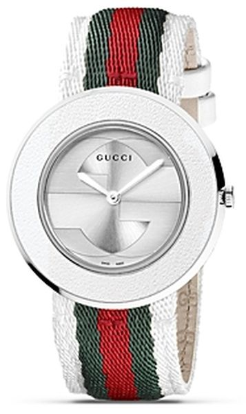 82854b04d0a Gucci ~ Uplay Round Stainless Steel Watch 35mm