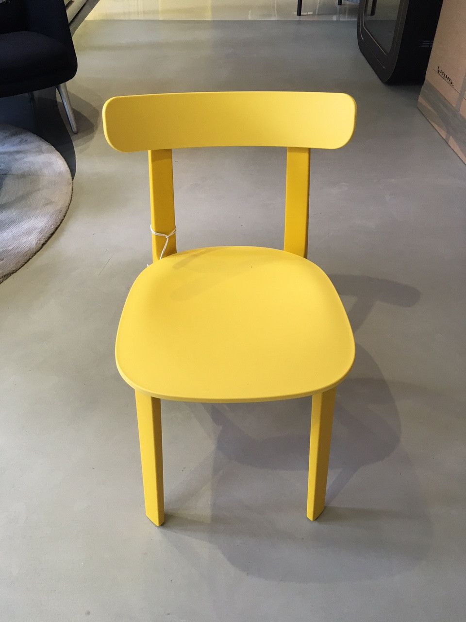 All Plastic Chair In Yellow   Home Decor, Midcentury And Contemporary  Furniture Design Inspiration  