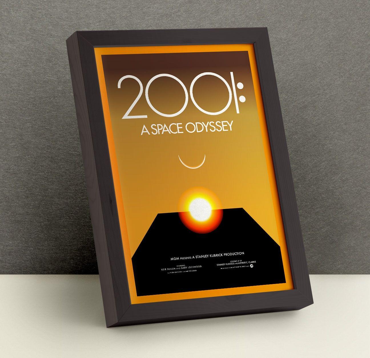 2001 Posters - Changethethought Studio