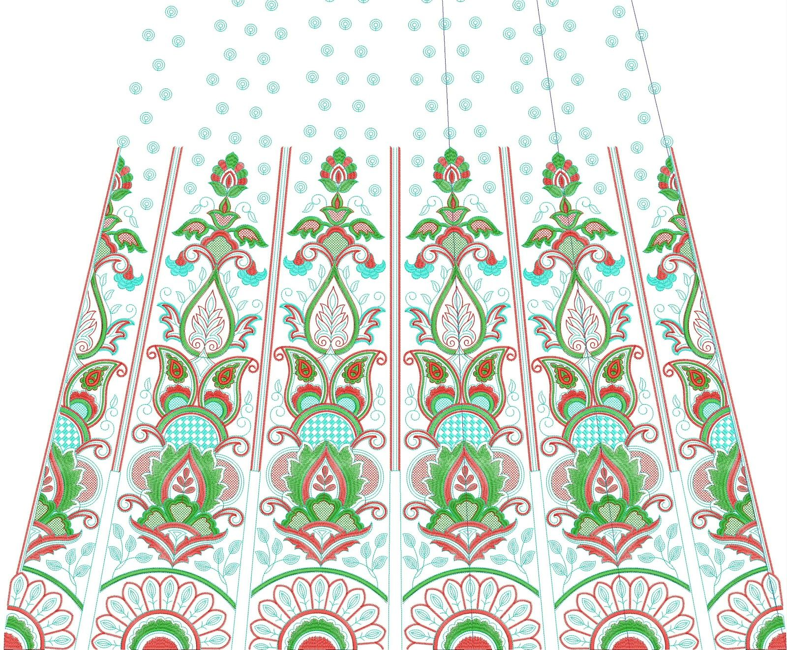 Embroidery designs embdesigntube choli embroidery designs for