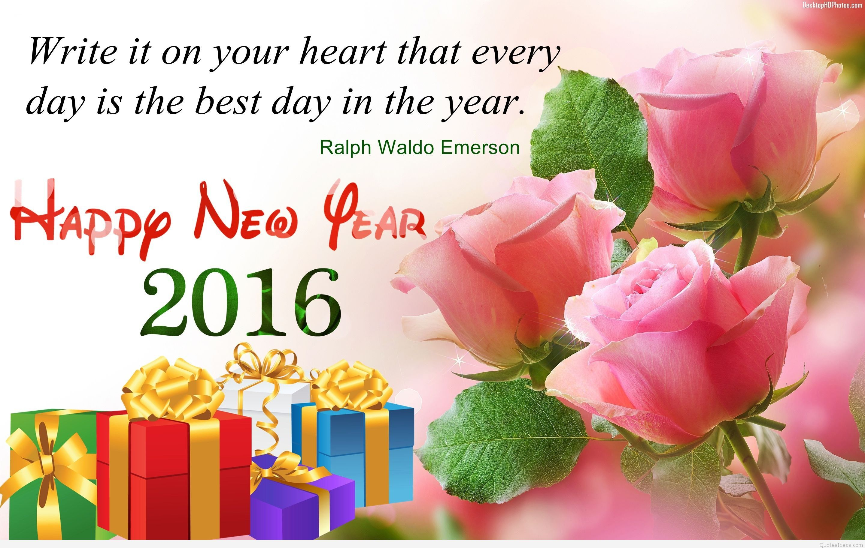 Happy New Year Instagram Quotes Images Wallpapers 2016 Adorable