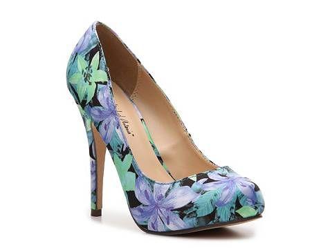 Michael Antonio Love Me Floral Pump High Heel Pumps Pumps & Heels Womens Shoes - DSW