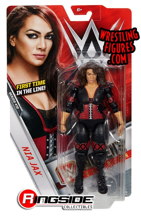 Nia Jax Wwe Series 72 Wwe Toy Wrestling Action Figure Nia Jax Wwe Wwe Toys