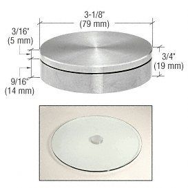 Crl Uv Rotation Support By Cr Laurence By Cr Laurence 105 00 Lazy Susan For Glass Table Tops Crl S Uv Rotation Supp In 2020 Glass Top Table Glass Table Table Tops