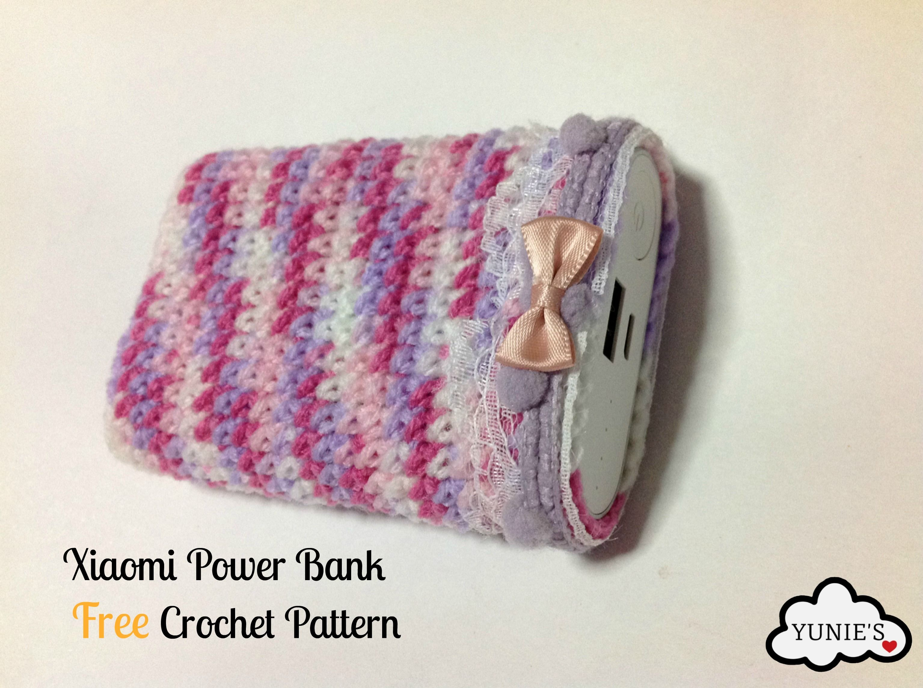 Free crochet pattern xiaomi 10000mah power bank pouch free crochet pattern xiaomi 10000mah power bank pouch yunies xiaomi bankloansurffo Gallery