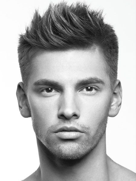hair-trends-2014-mens-choppy-style-short-back-and-sides-haircut.jpg 450×600 pixels