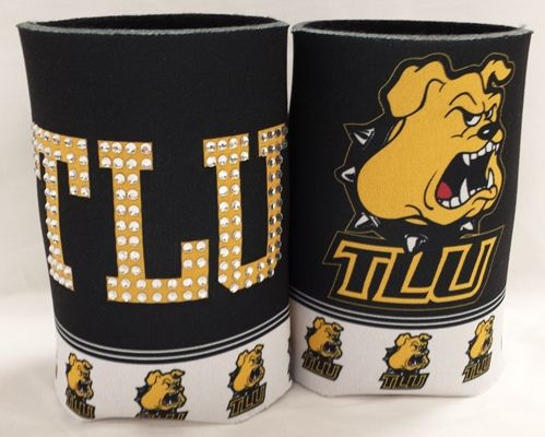 """Koozie Bling   TLU Bookstore- Possible raffle prize for a """"well wisher"""""""