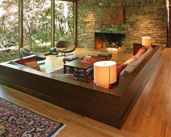 15 Zen Inspired Living Room Design Ideas Home Design Lover Sunken Living Room Cozy Living Room Design Zen Living Rooms