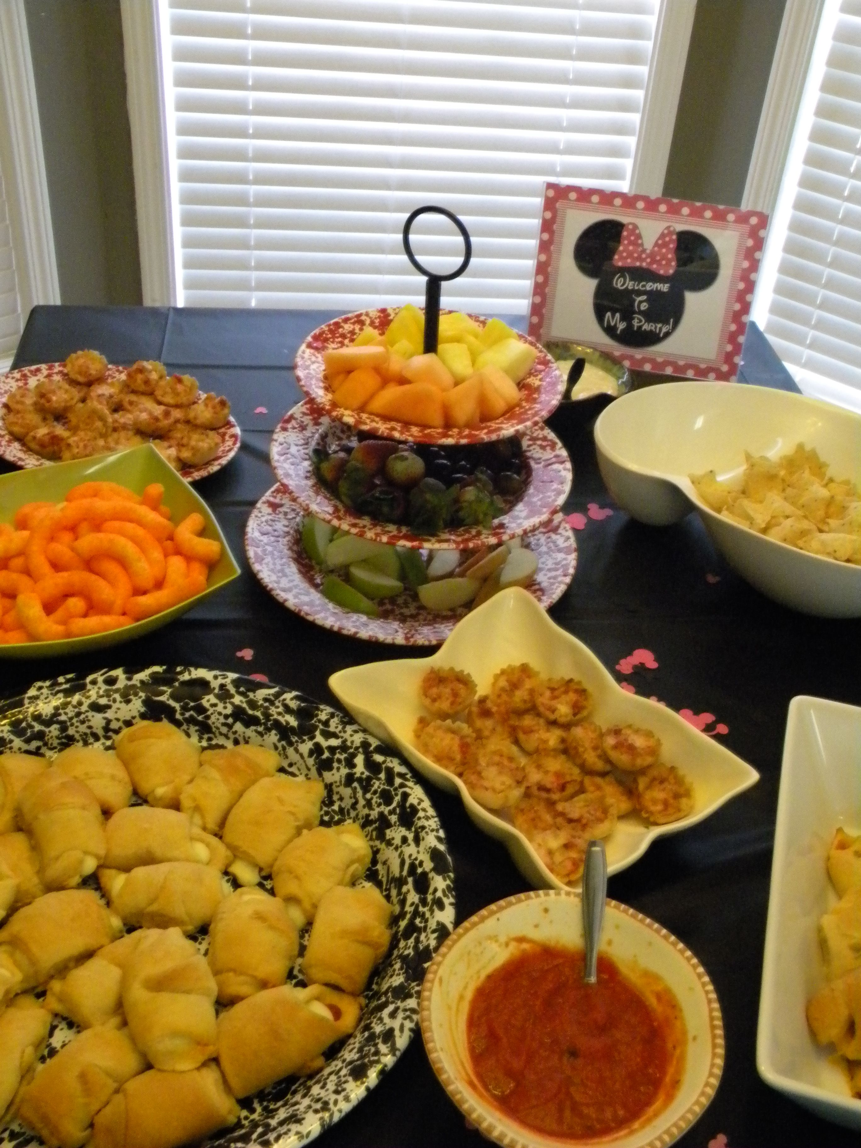 Party Food Presentation