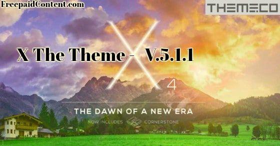 download x theme wordpress free
