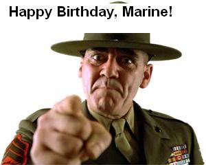 happy birthday marine quotes