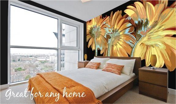 Sunflower paredes pinterest grafitis pinturas - Pinturas decorativas paredes ...