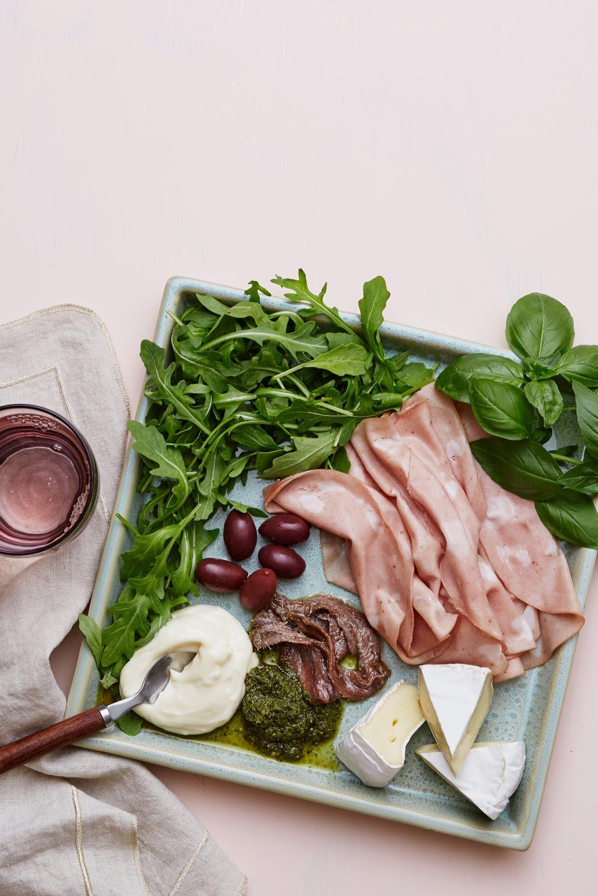 Keto mortadella and Brie plate Recipe Healthy recipes