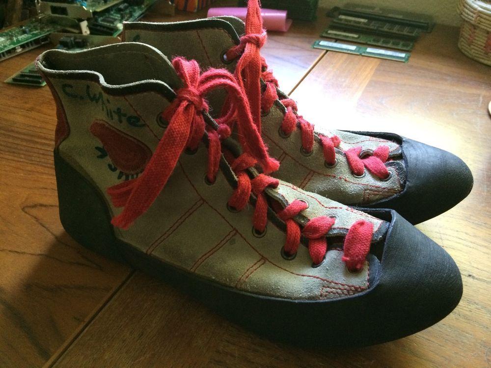 590d5b1c762d Vintage Boreal Fire Rock rock climbing shoes-Mens size 8.5  Boreal