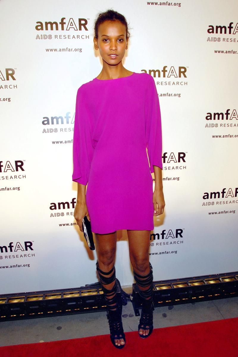Take style cues from lemlem founder Liya Kebede and rock an all pick look this Valentine's Day.