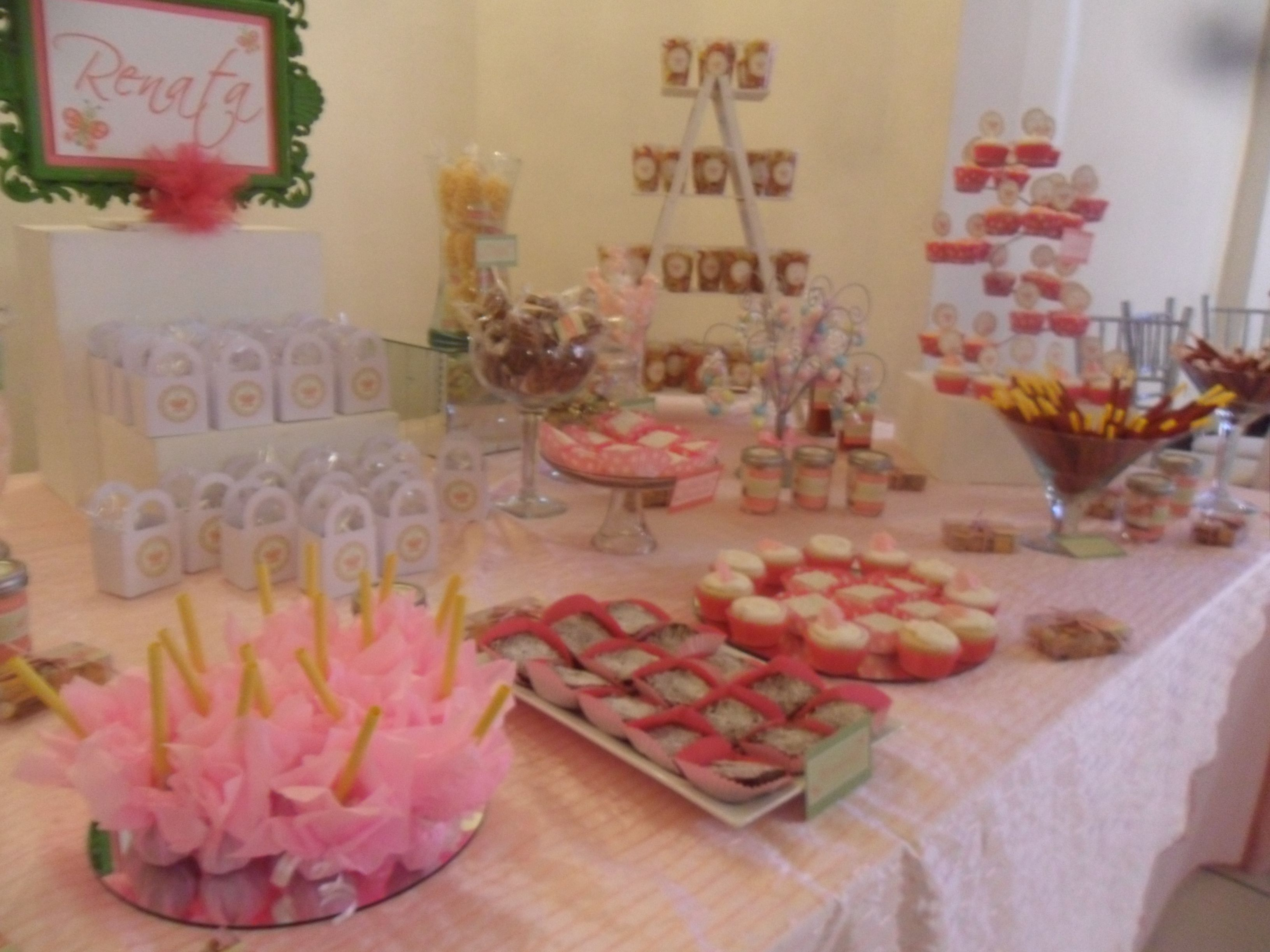 Mesa de snack para babyshower baby shower ideas