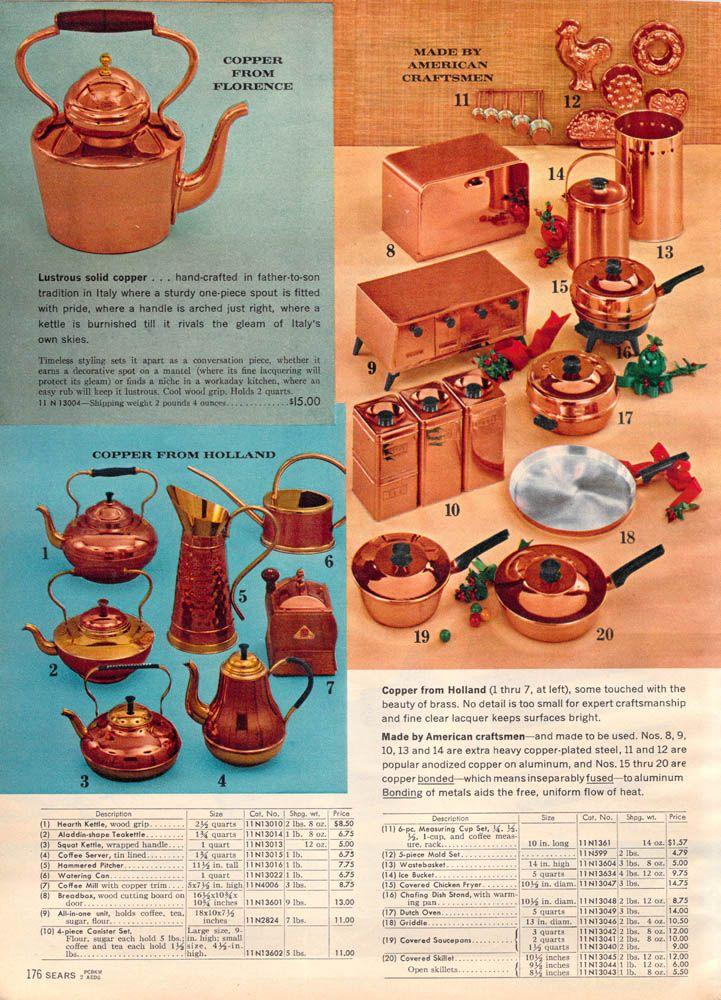 1962 Sears Christmas - Copper