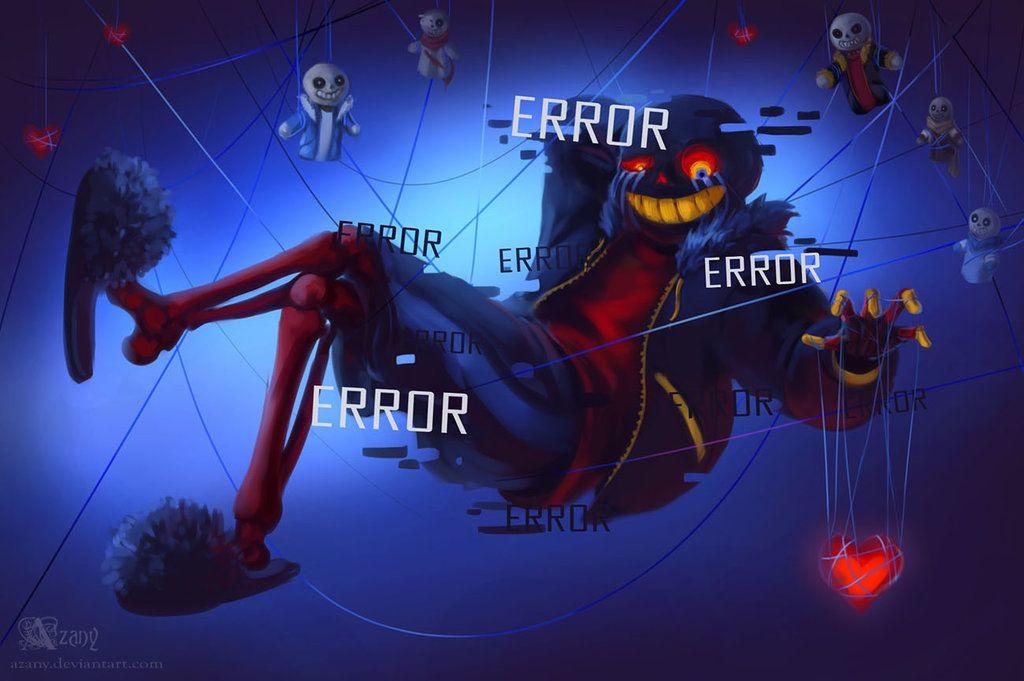 Error Sans By Azany Deviantart Com On Deviantart Error Sans Undertale Undertale Comic