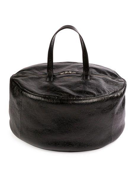 082a18ecec1e BALENCIAGA AIR HOBO LARGE ARENA LEATHER TOTE BAG.  balenciaga  bags   shoulder bags  hand bags  leather  hobo