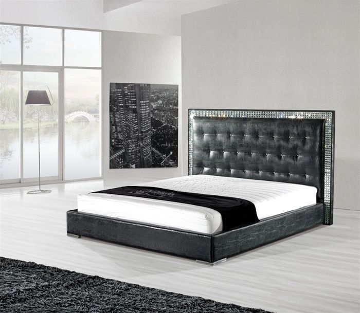 Your Guide to Buying a Leather Bed Frame | Pinterest | Leather bed ...