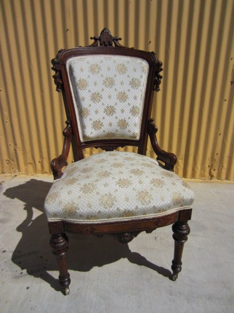 American Antique Victorian Chair Eastlake Antique Chair Antique Furniture -  American Antique Victorian Chair Eastlake Antique - Eastlake Antique Chairs Antique Furniture