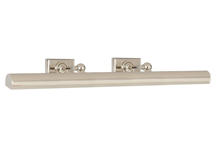 Cabinet Maker Picture Light, Nickel $335.00 - $420.00 $419.00 - $525.00 Up to 20% Off