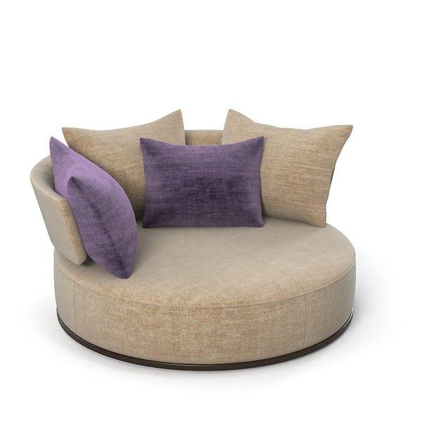 sweet designer couches. maxalto round sofa rounfd swivel modern ac170g contemporary divan designer  counch