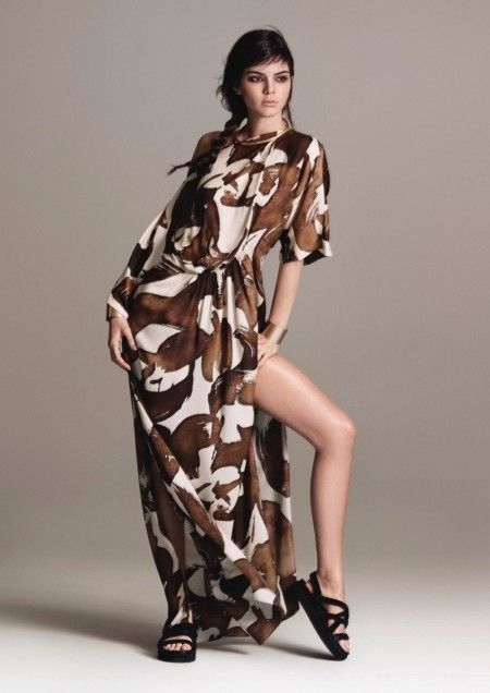 924bf9c179a8 Kendall Jenner Has  Tribal Spirit  in Mango s Spring 2016 Campaign ...