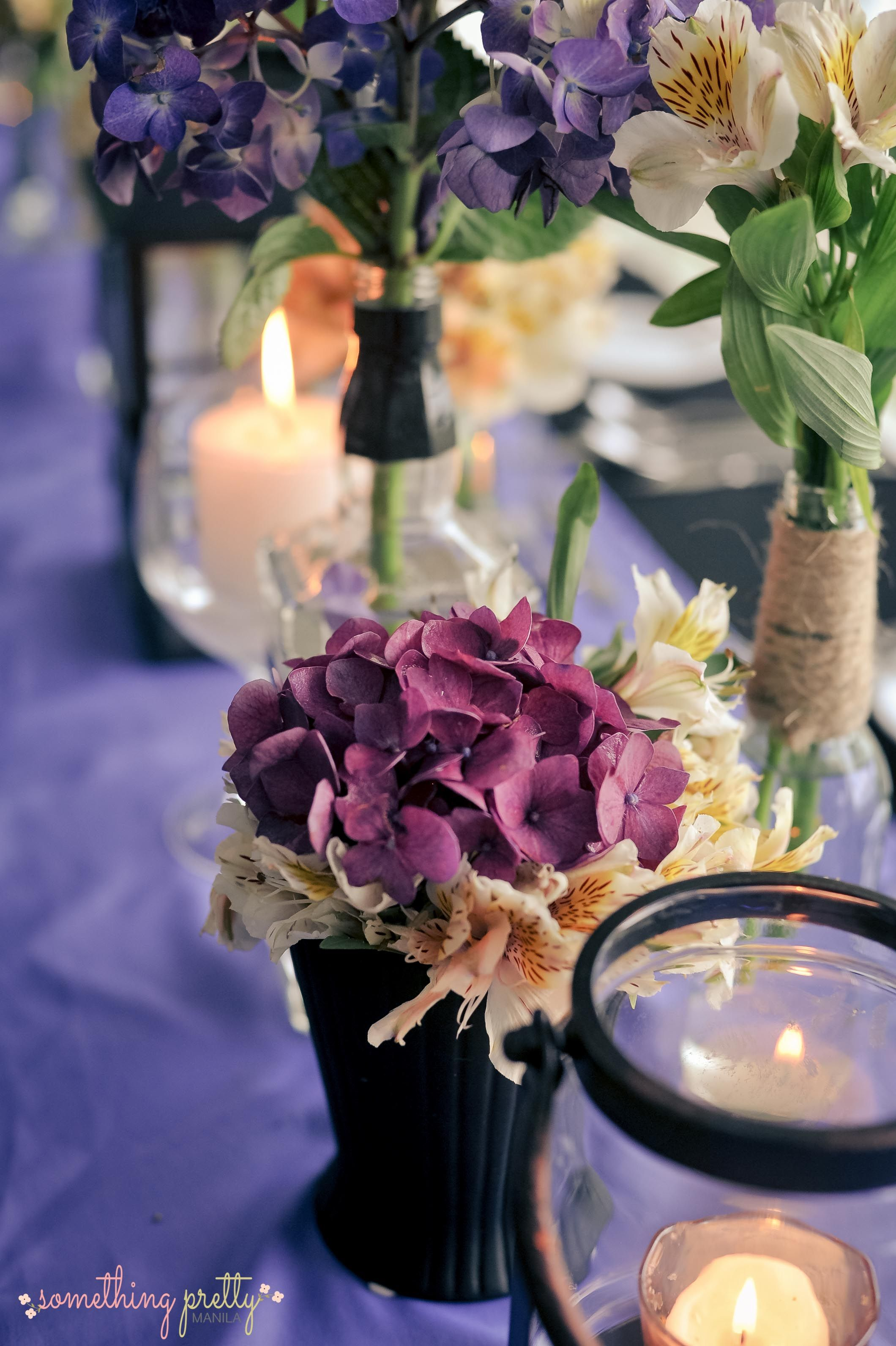 VIP Table Centerpiece Styling