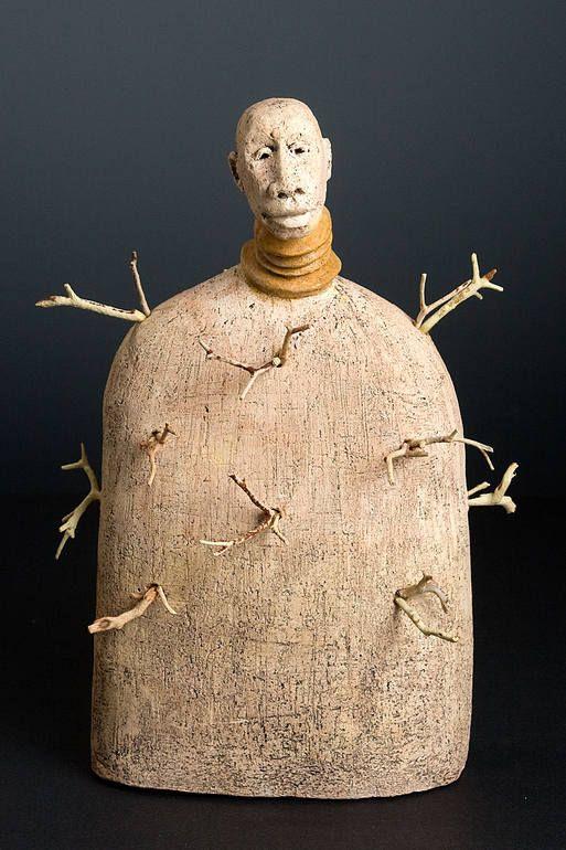 Africa 08. Mud Woman, Roelna Bashew