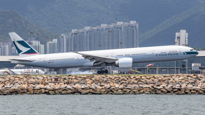 Hong Kong Airport flight operations resume