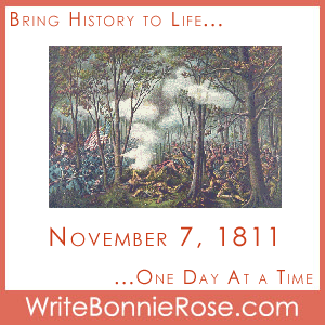 Timeline Worksheet: November 7, 1811, Battle of Tippecanoe. It's a famous battle, but how much do you really know about the Battle of Tippecanoe and its impact on the direction of the War of 1812? Find out with this history printable and try some map work about the state of Indiana.