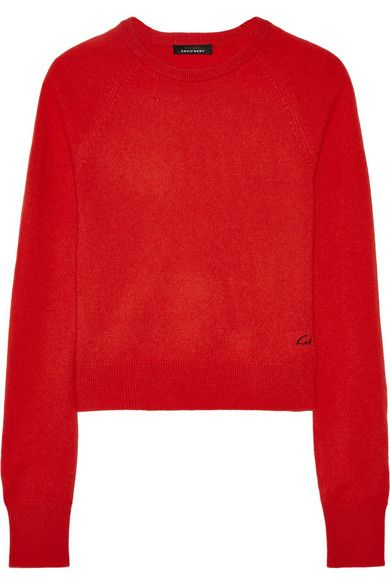2b57c0a2ab8 Ryder cashmere sweater | Luscious red | Cashmere sweaters, Cashmere ...