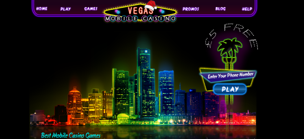 Play the Vegas Mobile Casino real money Games, and get